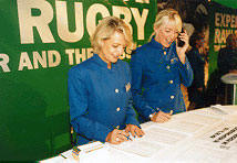 Angels at the Rugby World Cup
